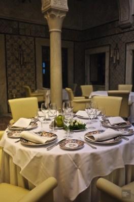 restaurant tunis table - Dar El Jeld - Tunisie, de la mer au désert - Afrique, Tunisie