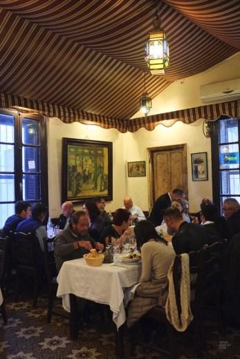 salle restaurant hammamet - Chez Achour - Tunisie, de la mer au désert - Afrique, Tunisie