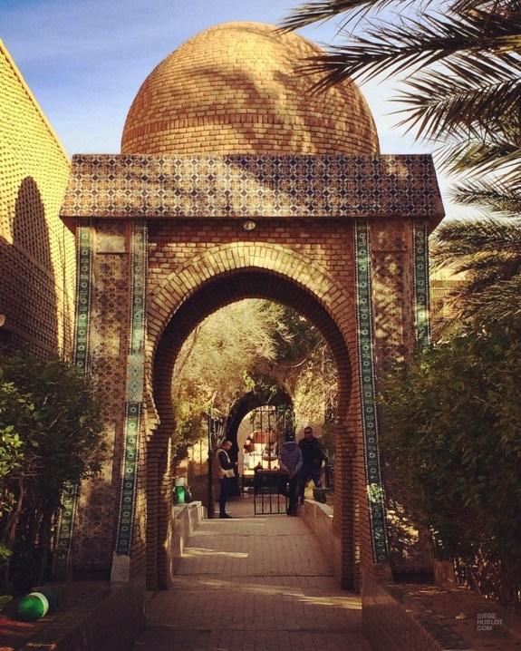 tozeur passage extérieur - Musée Dar Cheraït - Tunisie, de la mer au désert - Afrique, Tunisie