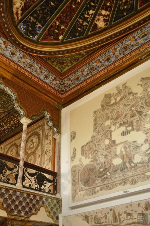 tunis plafond - Musée national du Bardo - Tunisie, de la mer au désert - Afrique, Tunisie