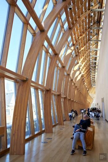verrière AGO - Musée Art Gallery of Ontario - Séjour à Toronto - Amérique, Canada, Ontario