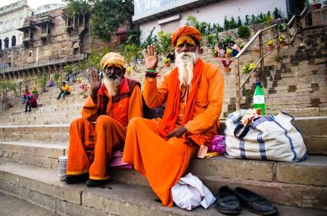 hommmes saints sadhu - varanasi - L Inde du Nord en quatre étapes - Asie, Inde