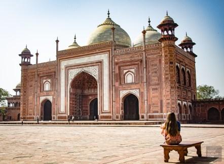 mosquee taj mahal - agra - L Inde du Nord en quatre étapes - Asie, Inde