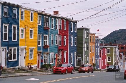 St-John rue - Terre-Neuve - Le Canada dans ma langue - Amérique du Nord, Canada