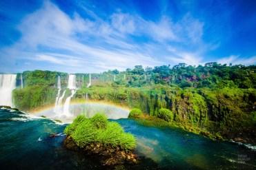 chute-herbe-chutes-iguazu-Plage-et-nature-au-Bresil-Amerique-Bresil - Plages et nature au Brésil - bresil, amerique-centrale-sud