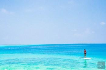 paddleboard-Les-Maldives-Les-Maldives-le-grand-luxe-en-plein-ocean-Indien.-Asie-Maldives - Les Maldives, le grand luxe en plein océan Indien - maldives, featured, asie
