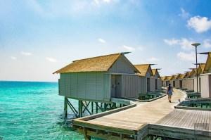 villa sur pilotis - Centara ras fushi - Les Maldives, le grand luxe en plein ocean Indien. - Asie, Maldives