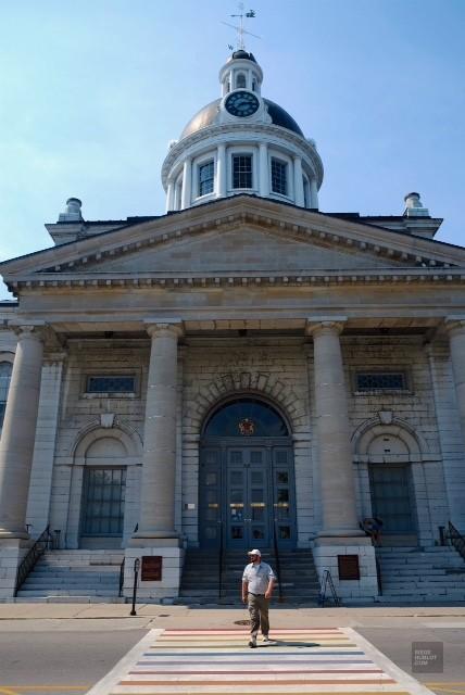 City Hall de Kingston - première capitale - Road trip en Ontario - Amérique du Nord, Canada