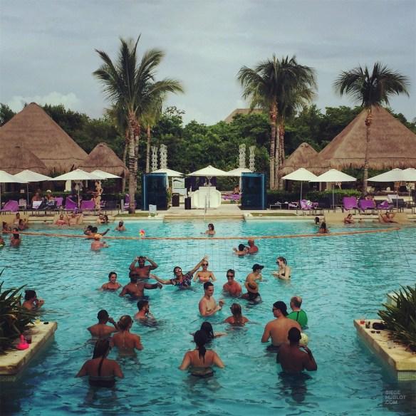 Piscine de l'hôtel - Le style - Un Paradisus à Playa Del Carmen - Amérique du Nord, Mexique