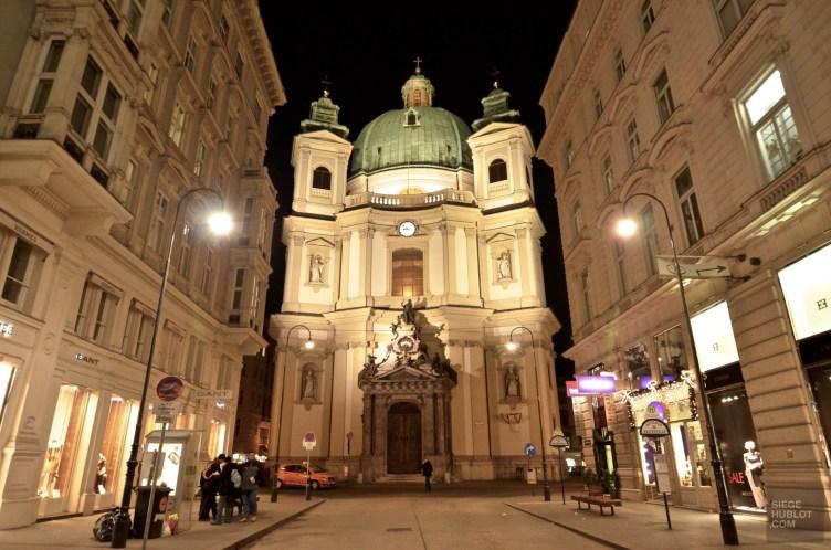 Rue architecture - Vienne, Autriche - Marchés de Noël - Europe, Autriche, République tchèque, Slovaquie