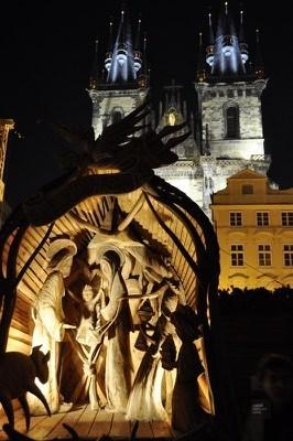 Creche Noel - Prague, République tchèque - Marchés de Noël - Europe, Autriche, République tchèque, Slovaquie