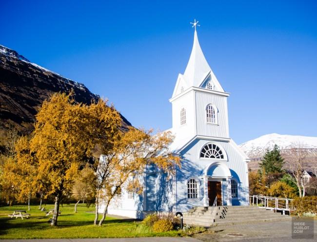 eglise - Dettifoss, Seydisfjordur et la route de l'est - Islande en 8 jours - Islande, Europe