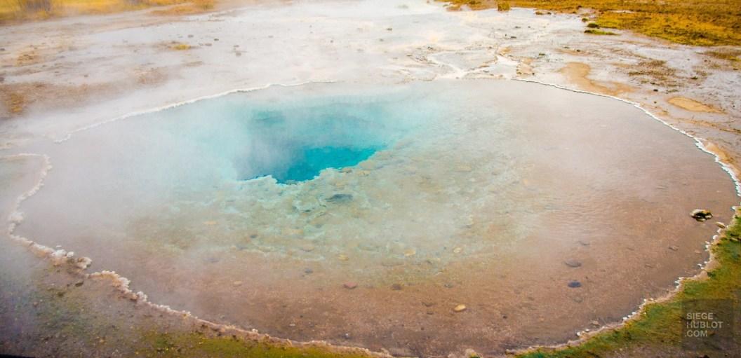 geyser fameux triangle d or islande islande europe