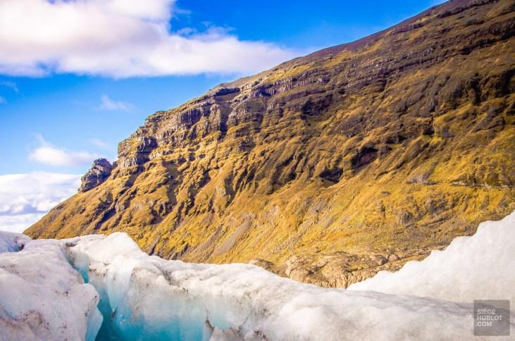 glacier montagne glacier vatnajokul islande europe