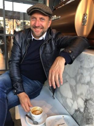 Jean-Michel Dufaux café Sorry Toronto - Café au Sorry - Week-end de gars à Toronto - Amérique du nord, Canada