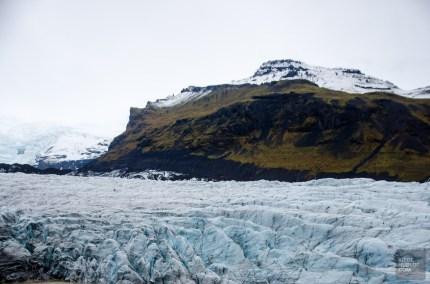 langue glacier vatnajokul islande europe