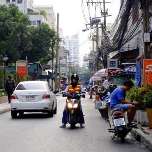 Rue du quartier - Autour de l'hôtel - Un Bandara à Bangkok - Asie, Thaïlande