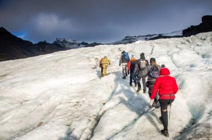randonnee glacier vatnajokil islande