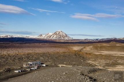 vue panoramique cratere - Akureyri, lac Myvatn, Hverir, Godafoss - Islande en 8 jours - Islande, Europe
