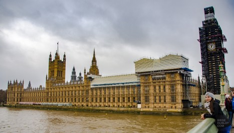 Palais de Westminster - Courte escale a Londres - Europe, Angleterre