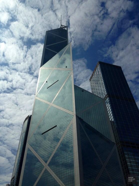 Bank of China - Architecture - Séjour à Hong Kong - Asie, Chine