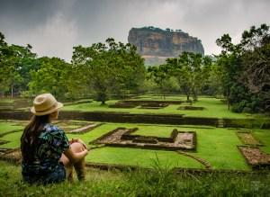 rocher du lion - vieilles cites, temples et monasteres - Sri Lanka, au cœur de l ile - Asie, Sri Lanka