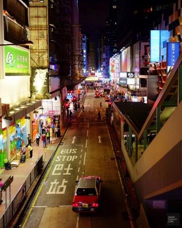 Un taxi la nuit - Découvrir Hong Kong - Séjour - Asie, Chine