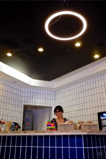La barista du Olga - Olga Café dans Polanco - 3 cafés à Mexico - Amérique du Nord, Mexique