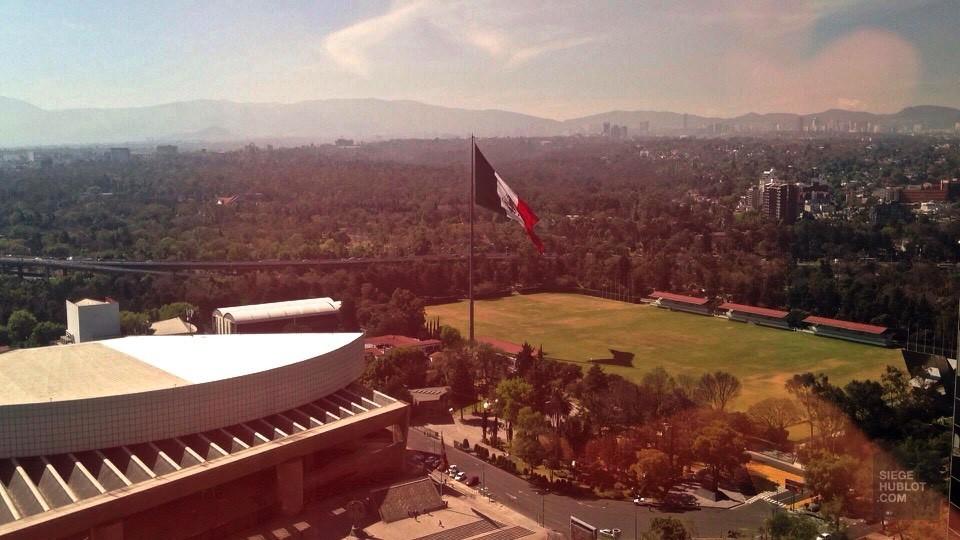 La vue du 35e étage - Presidente InterContinental México City - Un hôtel dans Polanco - Amérique du Nord, Mexique