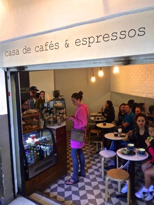 Intérieur cliente Chiquitito - Chiquitito Café dans Condesa - 3 cafés à Mexico - Amérique du Nord, Mexique