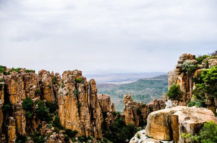magnifiques falaises - randonnee en montagne - Dose d adrenaline en Afrique du Sud - Afrique, Afrique du Sud