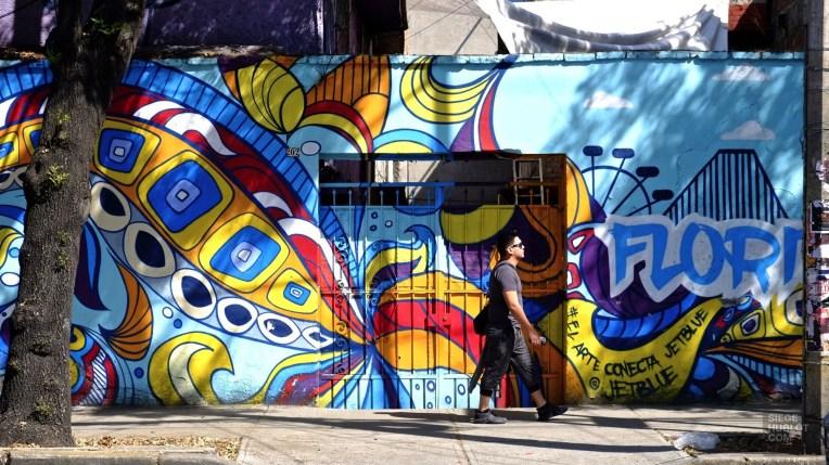 Murale - Un quartier chic - Un hôtel InterContinental dans Polanco - Amérique du Nord, Mexique