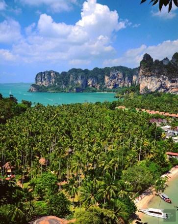 Railay Beach - Krabi, Thaïlande - unique resort écologique - Asie