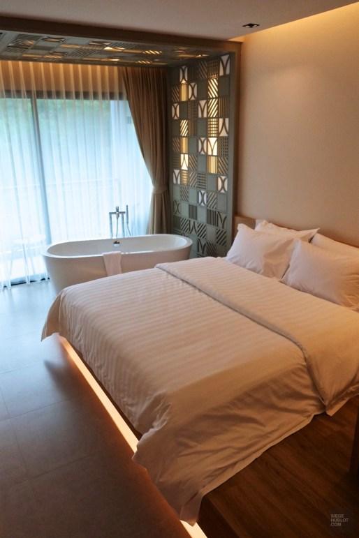 Le Spa studio, chambre avec baignoire - Anana Resort Krabi - unique resort écologique - Asie, Thaïlande