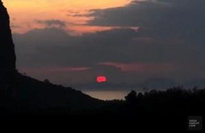 Vue sur de superbes couchers de soleil - Jungle et faune - Krabi et son unique resort écologique - Asie, Thaïlande