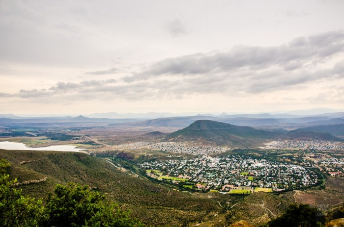 vue panoramique - randonnee en montagne - Dose d adrenaline en Afrique du Sud - Afrique, Afrique du Sud