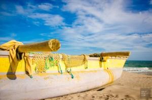 bateau pecheurs - La cote sauvage de Tangalle - Les plages du Sri Lanka et plus encore - Asie, Sri Lanka
