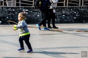 enfant place Tiananmen - Beijing - La Grande Muraille de Chine, un lieu mythique - Asie, Chine