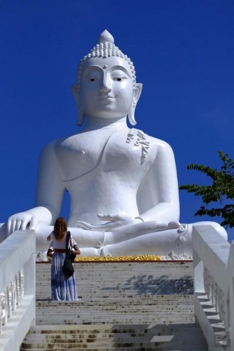Monter voir le Bouddha blanc - Les Excursions - Pai et la fraicheur des montagnes - Asie, Thaïlande
