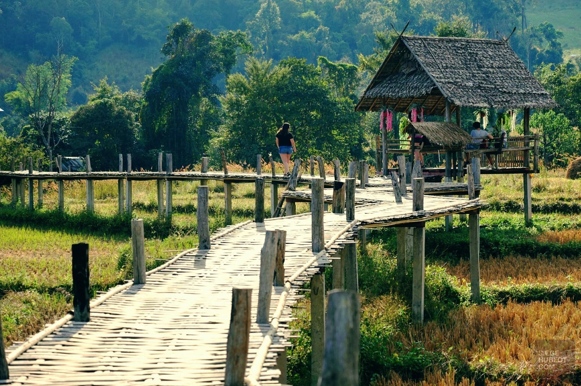 Des paysages fabuleux - Pai et la fraicheur des montagnes - Asie, Thaïlande