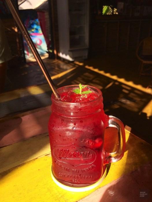 Roselle au Blossom Cafe Pai - Les Restaurants - la fraicheur des montagnes - Asie, Thaïlande
