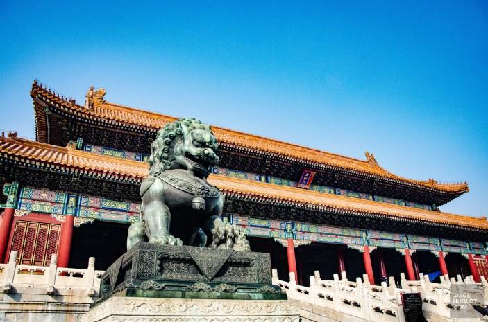 statue dragon - Beijing - La Grande Muraille de Chine, un lieu mythique - Asie, Chine