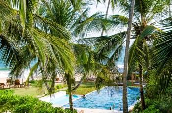 vue chambre Lankavatara - La cote sauvage de Tangalle - Les plages du Sri Lanka et plus encore - Asie, Sri Lanka