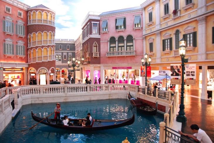 Comme à Venise - Une ville formée de deux iles - Découvrir Macao - Destination, Asie, Chine