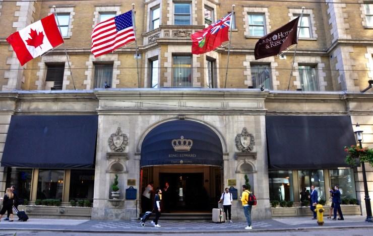 Façade de l'hôtel - The Omni King Edward - 12 Hôtels à Toronto - Amérique du Nord, Canada, Ontario