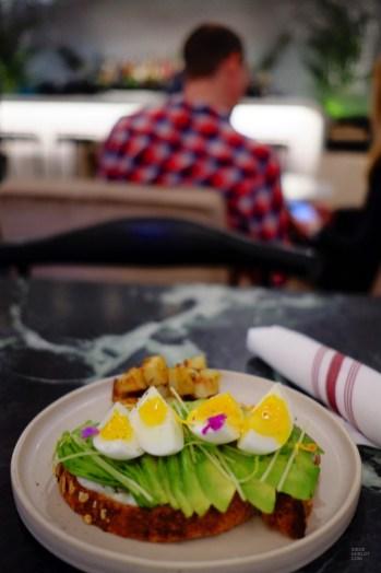 Petit-déjeuner et tartine d'avocat - The Annex - 12 Hôtels à Toronto - Amérique du Nord, Canada, Ontario