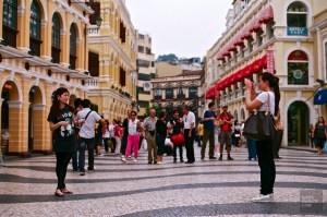 La Place Senado - Le centre historique - Découvrir Macao - Destination, Asie, Chine