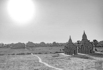 route perdue - Bagan, capitale de l ancien royaume de Pagan - A la recherche du temple perdu Bagan, Myanmar - Asie, Myanmar