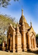 temple - Bagan, capitale de l ancien royaume de Pagan - A la recherche du temple perdu Bagan, Myanmar - Asie, Myanmar