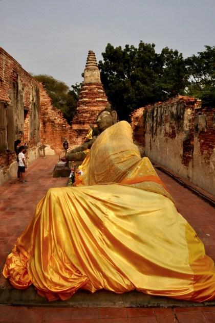 Bouddha couché - Et quoi d'autre? - Le parc historique d'Ayutthaya - Destination, Asie, Thaïlande